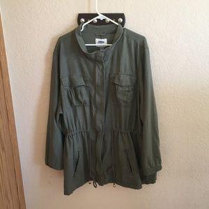 Old Navy Plus Size Women's Military Jacket Size 4X